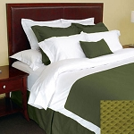 1888 Mills Adorn Cypress Bed Skirt Full XL 54x80 55% Cotton 45% Polyester 6 Per Case Price Per Each