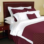 1888 Mills Adorn Redwood Bed Skirt Full XL 54x80 55% Cotton 45% Polyester 6 Per Case Price Per Each