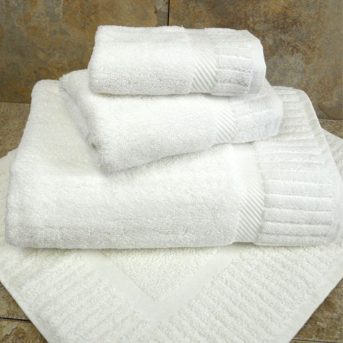 1888 Mills Naked Bath Sheets 35x70 50/50 Combed Cotton