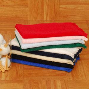 Velour Fringed Fingertip Towels