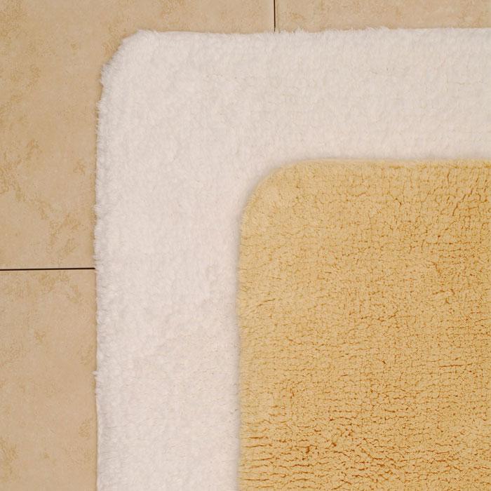 1888 Mills Magnificence Bath Rug XL 24x40 100% Pima Cotton Loops White or  Linen 10 Per Case Price Per Each