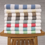 1888 Mills Fibertone Cabana Stripe Pool Towels 30x60 86% Cotton 14% Polyester 4 Dz Per Case Price Per Dz