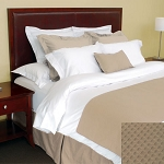 1888 Mills Adorn Wheat Bed Skirt Full XL 54x80 55% Cotton 45% Polyester 6 Per Case Price Per Each