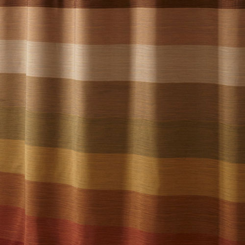 Hookless® Stratus Polyester Shower Curtain W/ Itu0027s A Snap!™ Replaceable  Liner 71x77 Brown Multi 12 Per Case Price Per Each