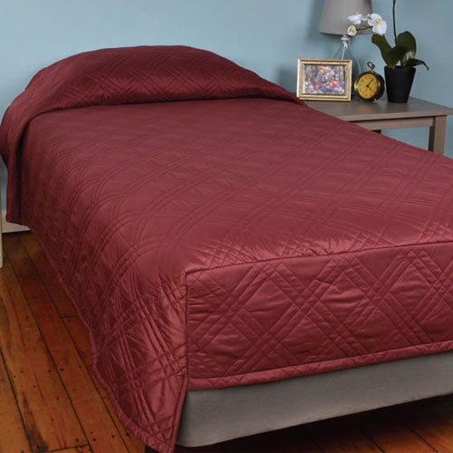 Berkshire Cozycare Classic Fitted Coverlet Hospital Twin