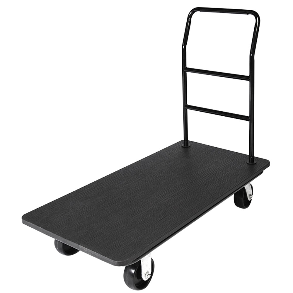 Csl Utility Cart Black Handle Gray Bumper 5 Gray