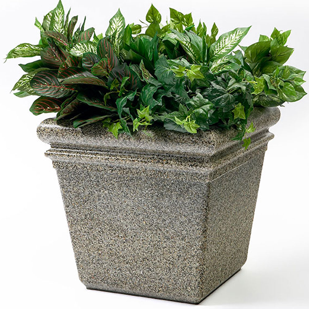 Commercial Zone 174 18 Quot Stonetec Indoor Or Outdoor Planter