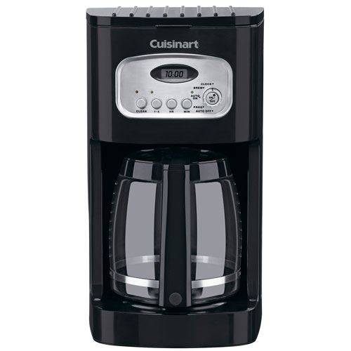 Cuisinart Coffee Maker Two Cup : Cuisinart DCC-1100BK 12 Cup Programmable Coffee Maker Black/Stainless Steel 2 Per Case Price ...