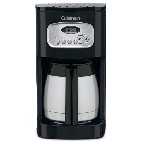 Cuisinart Dcc 1150bk 10 Cup Programmable Thermal Coffee Maker Black Stainless Steel 2 Per Case Price Each