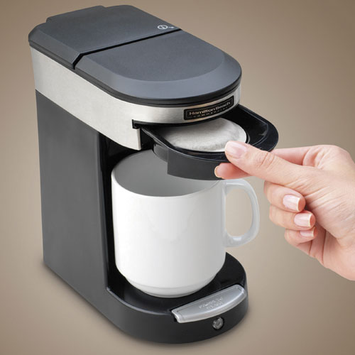 Hamilton Beach Commercial Hdc200s Deluxe 1 Cup Pod Coffee Maker W