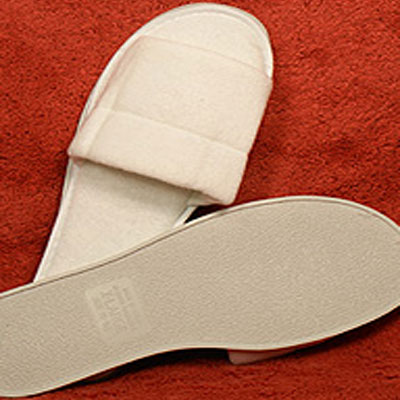 Kartri Open Toe Terry Womens Or Mens Large Bath Slippers W