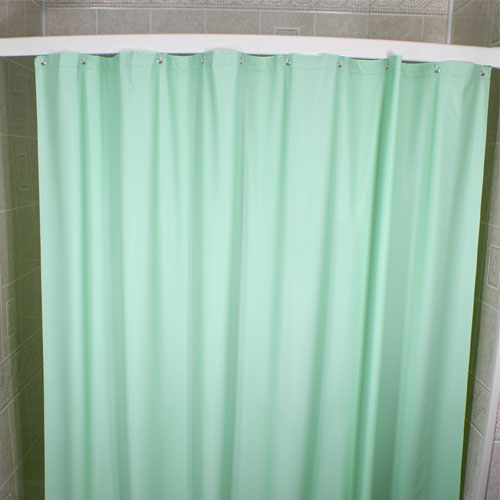 Kartri 6 Gauge Vintaff Vinyl Shower Curtain W Metal Grommets 72x72 12 Per Case Price Per Each