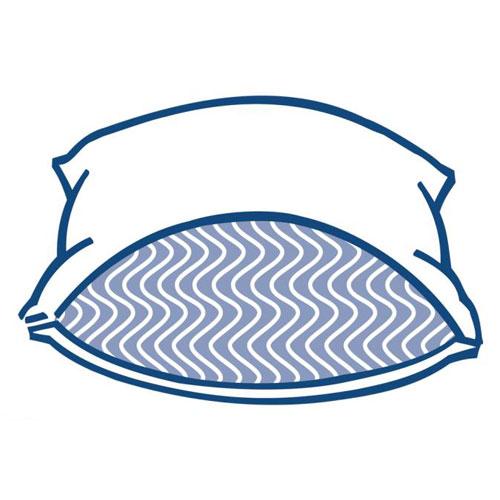 pacific coast flexiloft gold pillow standard 20x26 22 oz fill 12 per case price per each