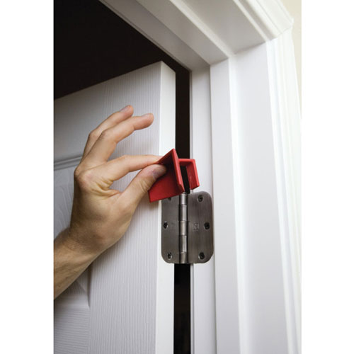 Pressto Valet Hinge Buddy Portable Door Stop Red 50 Per ...