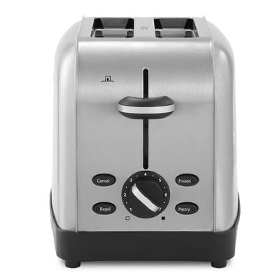 Oster Coffee Maker Clean Light On : Sunbeam TSSTTRWF2S-001 Oster 2 Slice Extra-Wide Slot Toaster Brushed Stainless Steel 2 Per ...