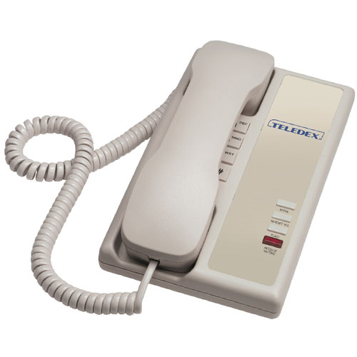 Teledex Nugget Series Analog Single Line Compact Phone