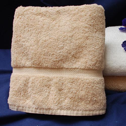thomaston mills royal suite dobby bath towels 27x54 beige 3 dz per