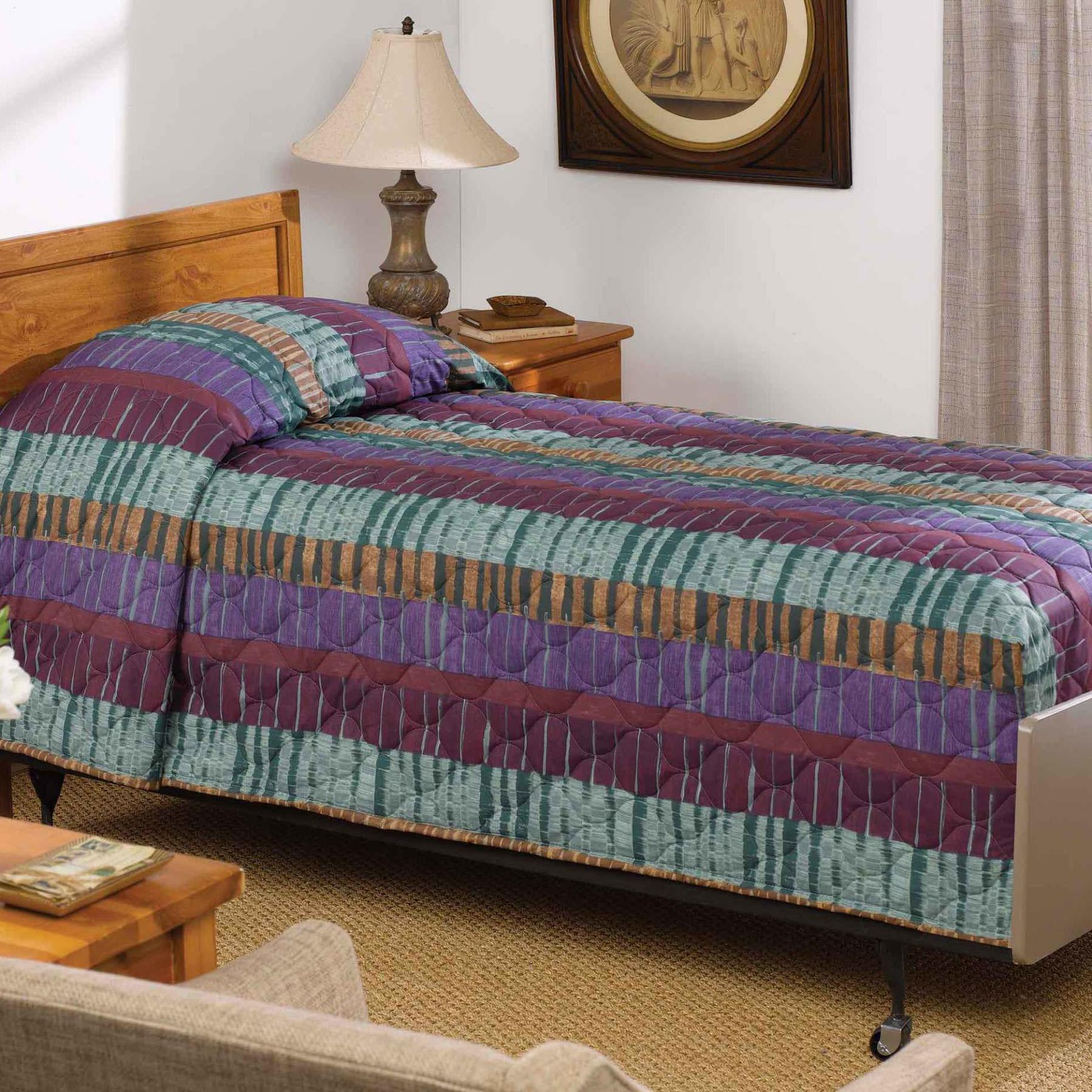 Martex Print Bedspread Hospital Twin 71x102 Polyester