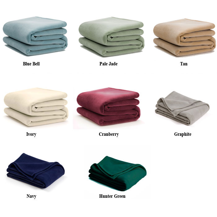 Martex Vellux Blanket Twin Full 72x90 4 Per Case Price Per Each