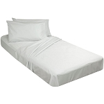 AHS Collection Econolin T-130 Pillowcases Standard 42x34 55% Cotton 45% Polyester White 6 Dz Per Case Price Per Dz