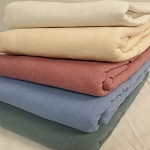 AHS Collection Lancaster Blended Snag Free Blankets 2.5 Lbs 55% Cotton 45% Polyester 66x90 12 Per Case Price Per Each