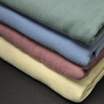 AHS Collection Newport Snag Free Blankets 3.0 Lbs 100% Cotton 66x90 12 Per Case Price Per Each