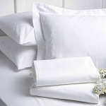 AHS Collection T-250 Pillowcases Standard 42x36 60% Cotton 40% Polyester White 6 Dz Per Case Price Per Dz