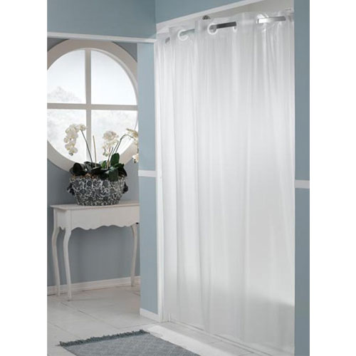 HooklessR 5 Gauge One PlanetTM PEVA Shower Curtains 71x74 Frost 12 Per Case Price Each