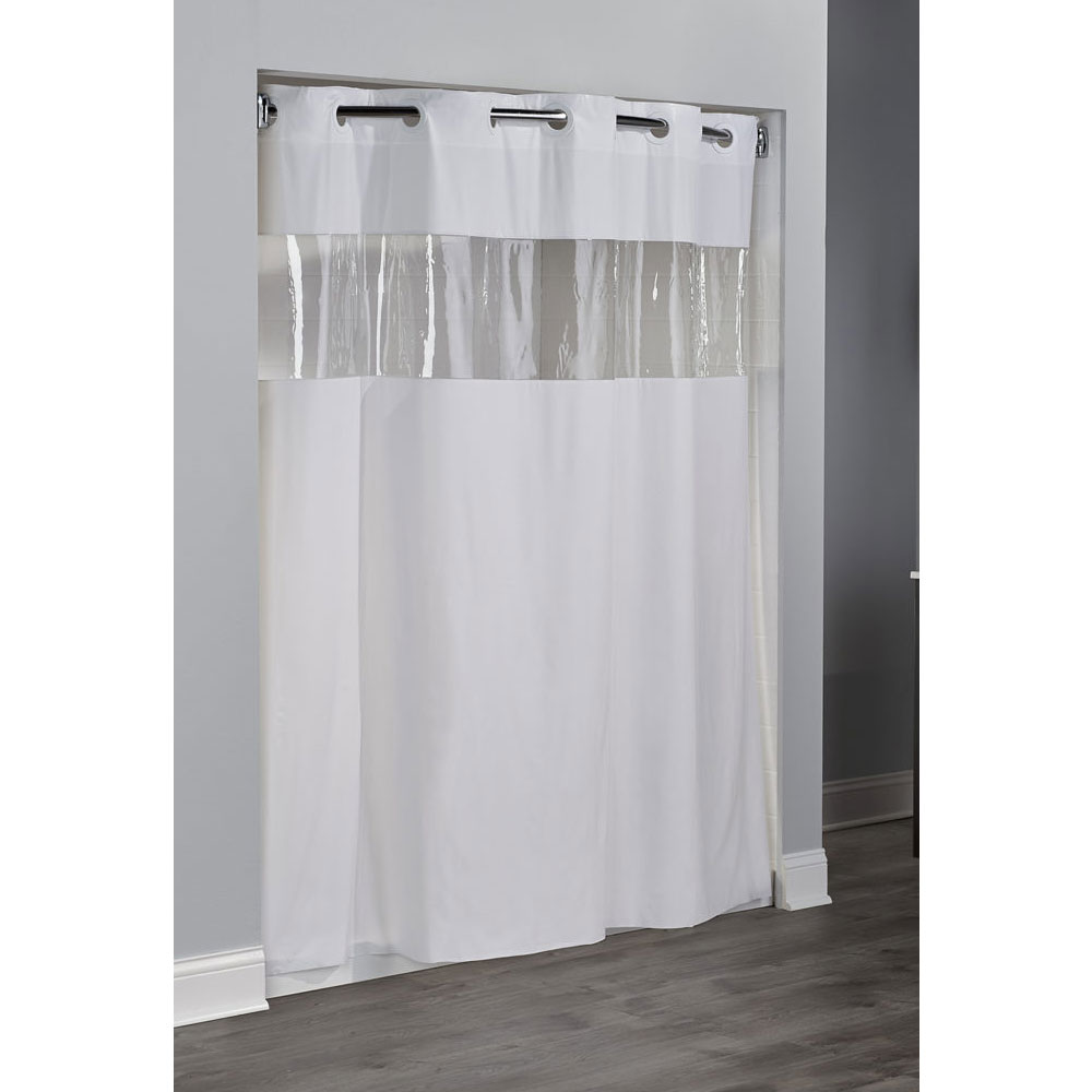 home arcs angles hookless vinyl shower curtains 8 gauge