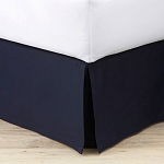 Atlantic Mills T-180 Bed Skirts Pleated Twin 36x80 50% Cotton 50% Polyester 24 Per Case Price Per Each