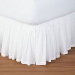 Atlantic Mills T-180 Bed Skirts Shirred Full 54x75 50% Cotton 50% Polyester 24 Per Case Price Per Each