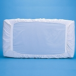 Bargoose Patented Portable Fitted Crib Safety Sheet 22x44x3 White 6 Per Case Price Per Each