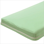 Bargoose Zippered Portable Crib Mattress Sheets/Covers 25.5x37x1 Mint 6 Per Case Price Per Each