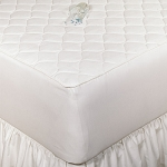 Bargoose 3 Ply Quilted Fitted Waterproof Mattress Pad w/ 16