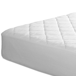 Bargoose 4 Ply Deluxe Quilted Fitted Waterproof Mattress Pad w/ 16