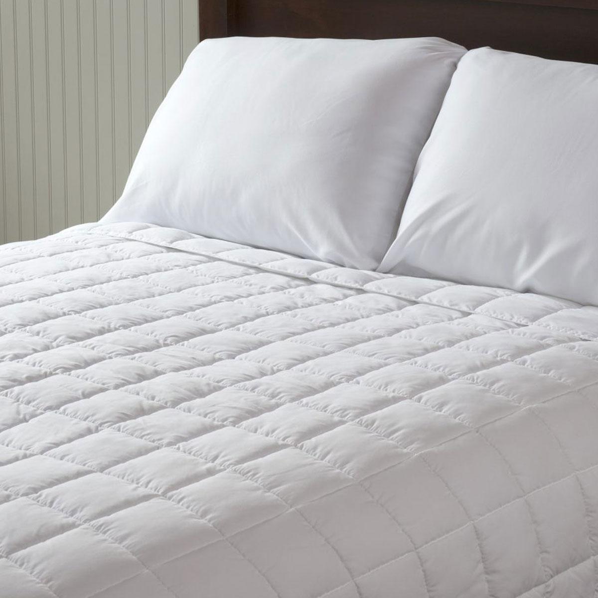 Berkshire Liteluxe Comforter Full Queen 84x84 White 4 Per