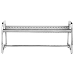 Commercial Zone® 6 Ft. Skyline Stainless Steel Bench