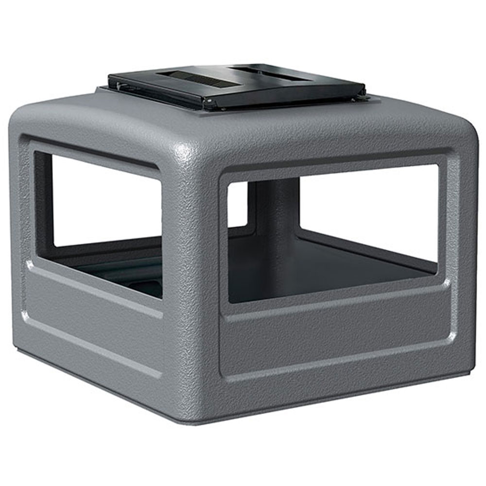 Commercial Zone 174 Square Ashtray Dome Lid For 38 Amp 42