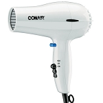 Conair® 047W 1600 Watt Compact Hair Dryer w/ Cool Shot White 4 Per Case Price Per Each
