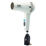 Conair® 169WIW 1875 Watt Ionic Cord- Keeper Dryer Hair Dryer w/ Folding Handle White 4 Per Case Price Per Each