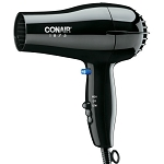 Conair® 247BW 1875 Watt Compact Hair Dryer Black 4 Per Case Price Per Each