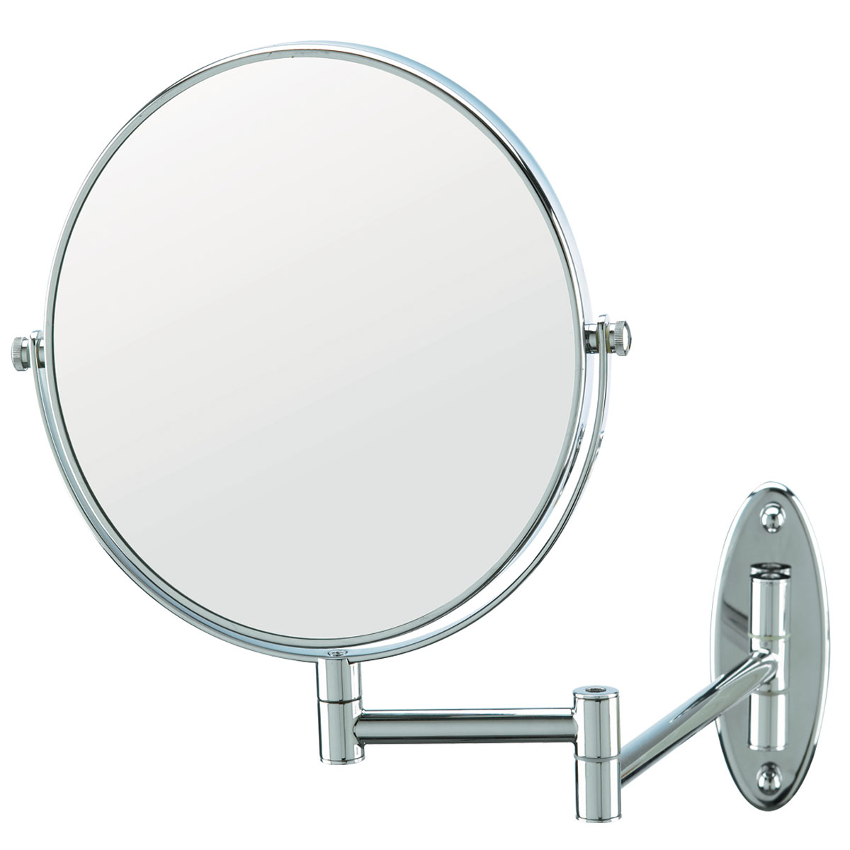 Conair 174 41741w 8 Quot Wall Mount Mirror 1x 5x Magnification