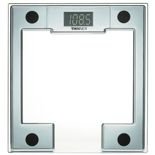 Conair Thinner Ms 8140wh Square Shaped Digital Gl Scale Chrome 4 Per Case Price Each