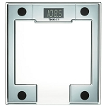 Conair® Thinner® MS-8140WH Square-Shaped Digital Glass Scale Chrome 4 Per Case Price Per Each