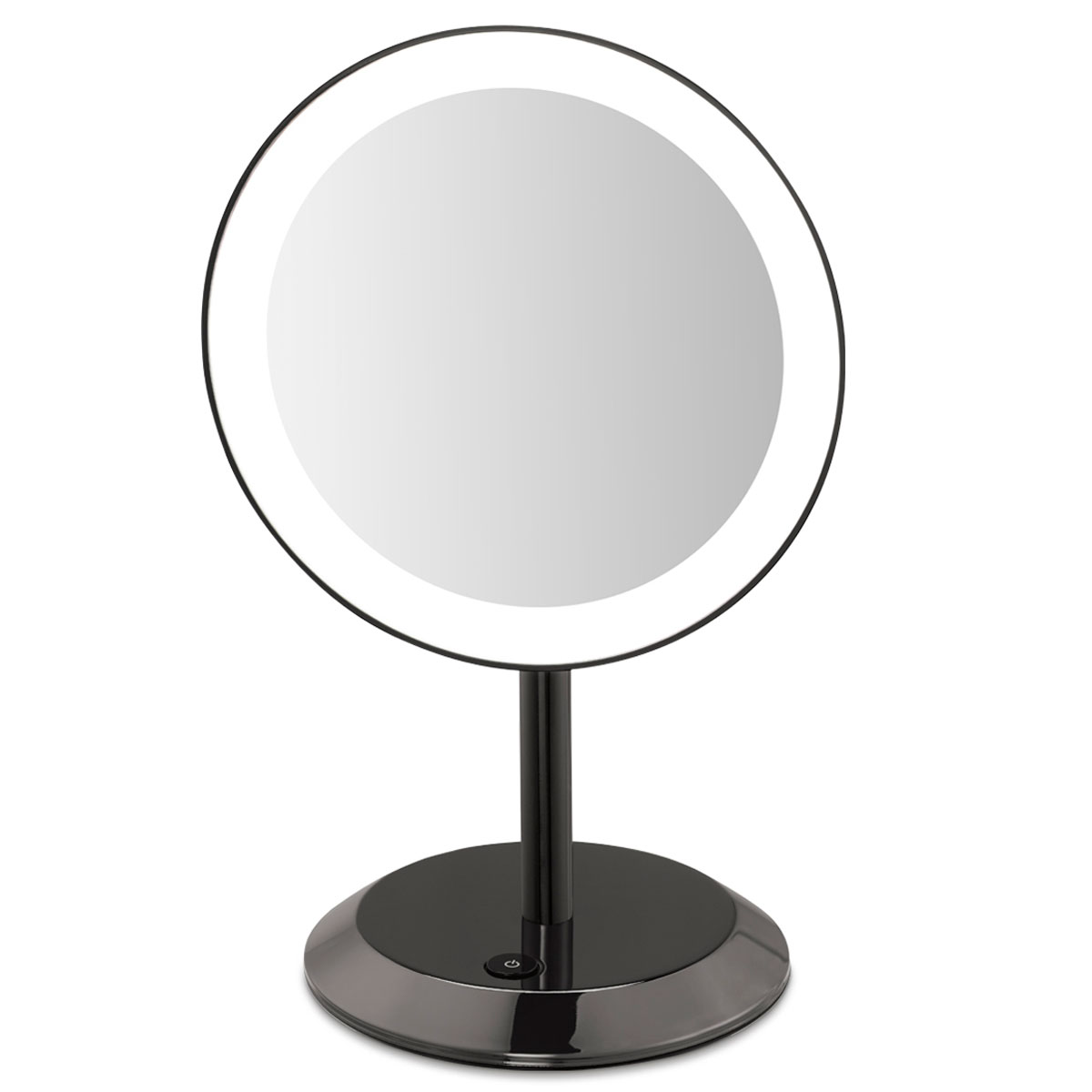 Conair be50lbchw 9 led lighted vanity mirror 5x magnification conair be50lbchw 9 led lighted vanity mirror 5x magnification black chrome 4 per case price per each mozeypictures Gallery