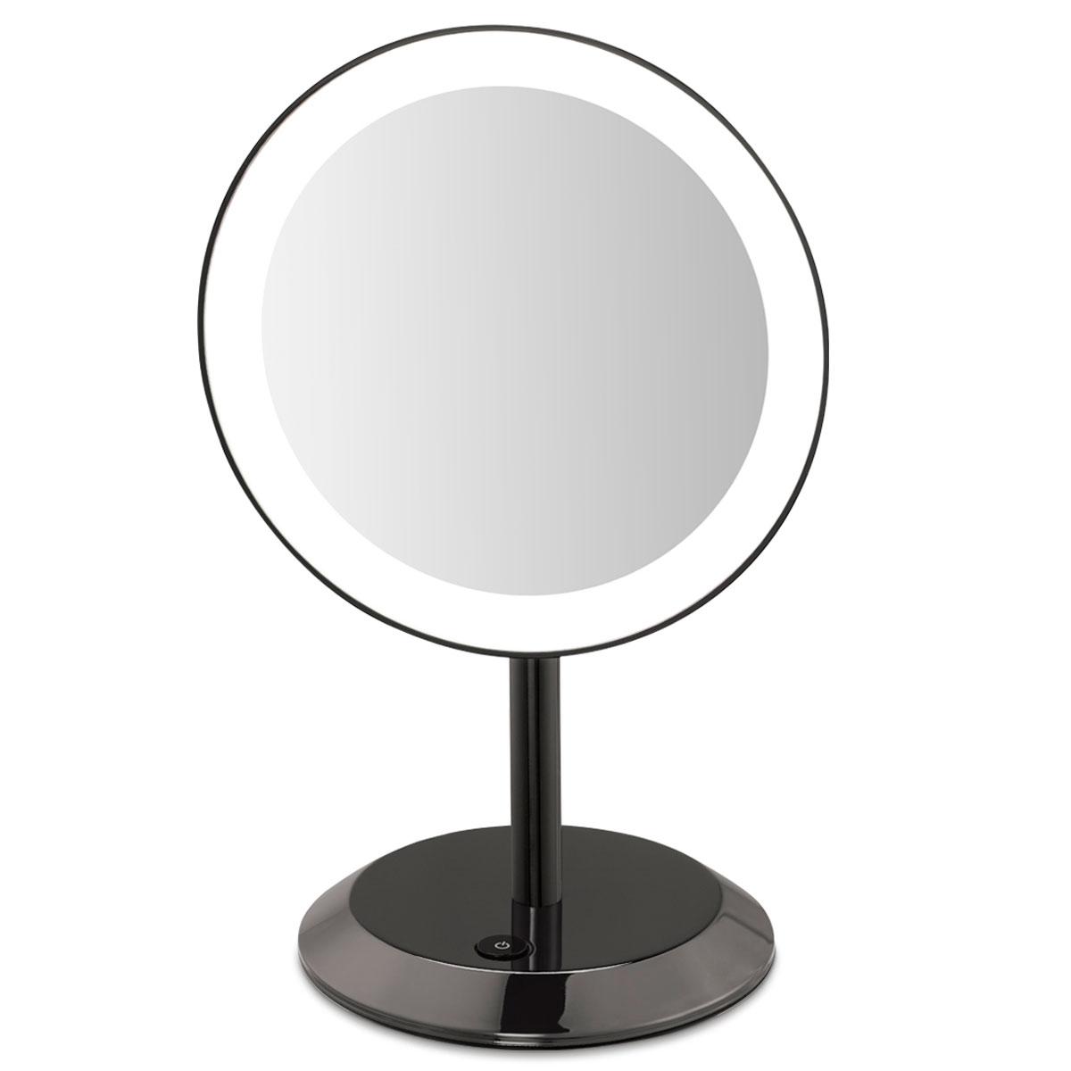 4 led lights mirror circle home u003e conair hospitality mirrors conair be50lbchw 9