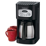 Cuisinart® DCC-1150BK 10 Cup Programmable Thermal Coffee Maker Black/Stainless Steel 2 Per Case Price Per Each