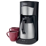 Cuisinart® DTC-975BKN 12 Cup Programmable Thermal Coffee Maker Black/Stainless Steel 2 Per Case Price Per Each
