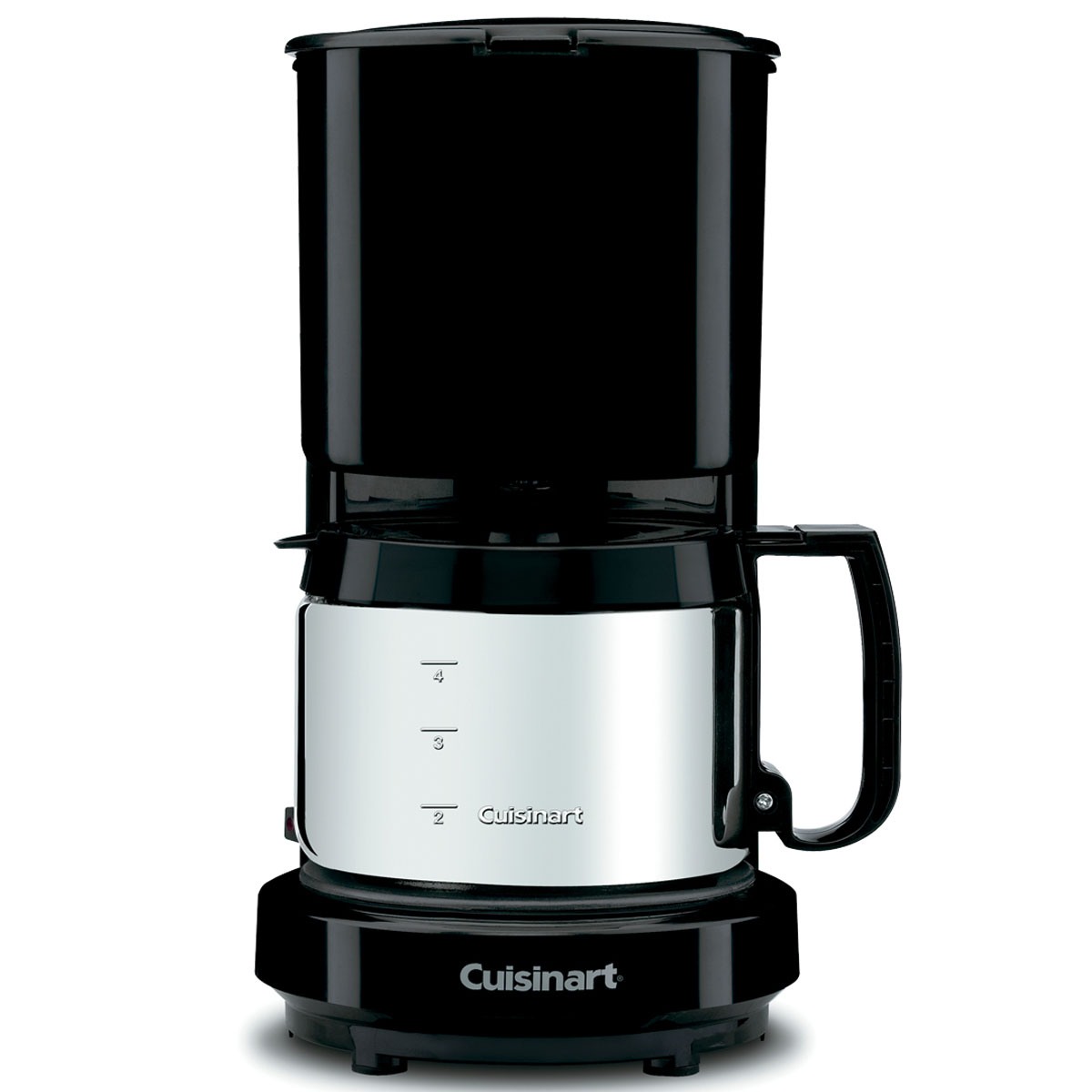 Cuisinart WCM08B 4-Cup Coffee Maker w/ Stainless Steel Carafe Black 4 Per Case Price Per Each