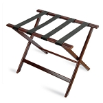 CSL Economy Series Wood Luggage Rack w/ Black Straps Cherry Mahogany 6 Per Case Price Per Each